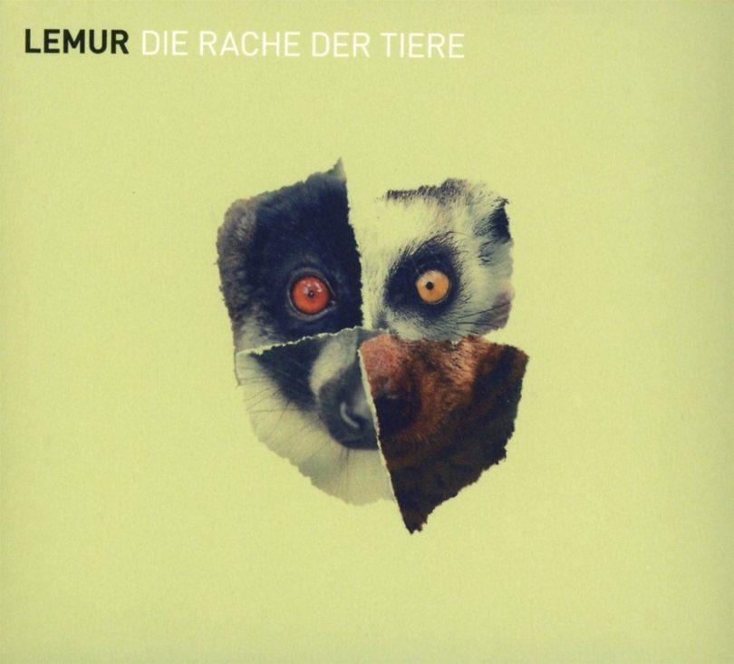 """Cover """"Die Rache der Tiere"""" Lemur"""